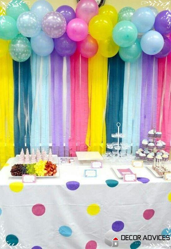 homemade party decoration Homemade Party Decorations Always Offer