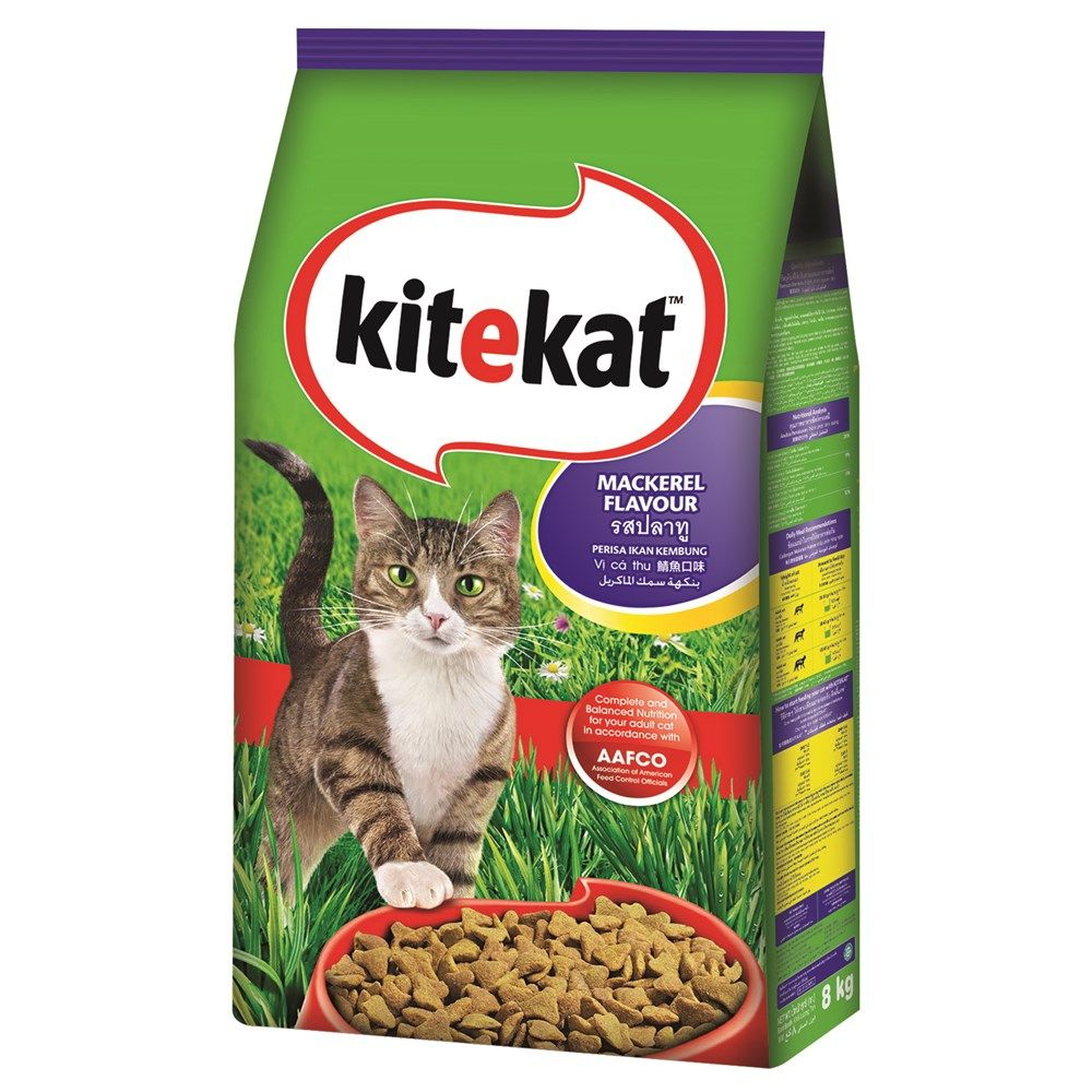 PriceAED 76.90 Buy Kite Kat Mackerel (8 Kg) Food of Cat