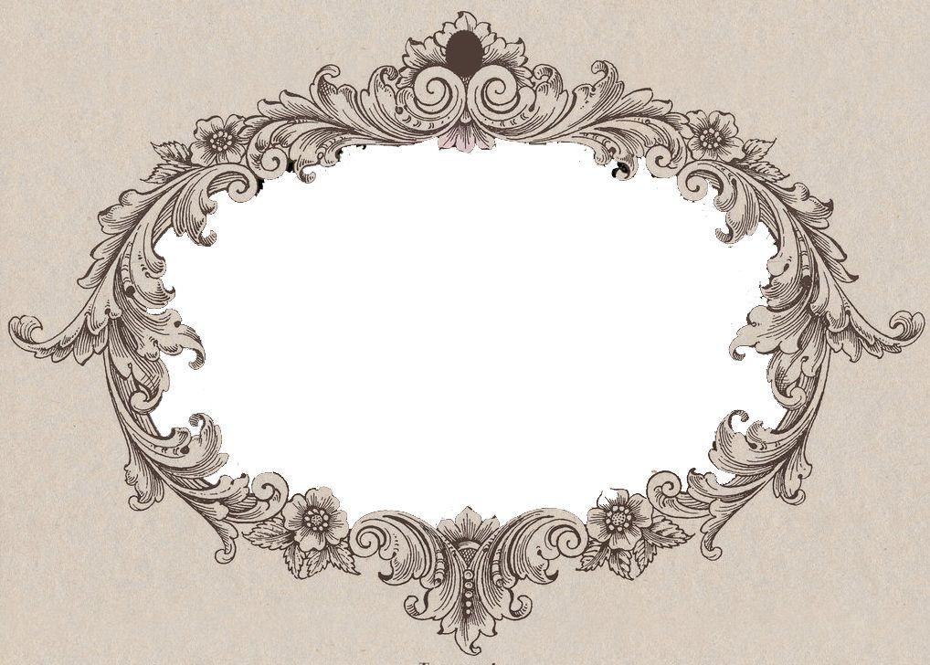 Filigree frame   Filigree / Acanthus   Pinterest   Filigree, Tattoo ...