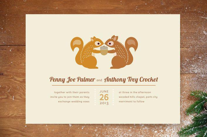 32 Rustic Wedding Invitations