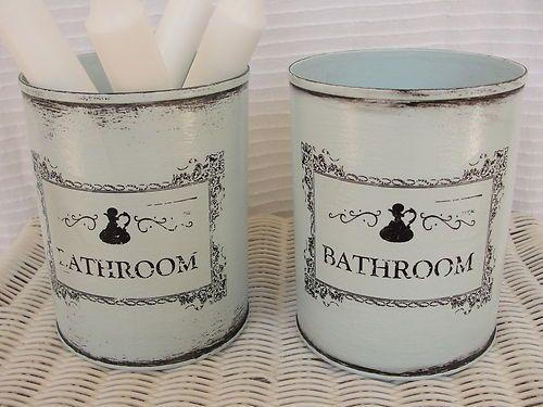 shabby chic 2er set dosen boxen aufbewahrung vintage t rkis bad utensilo shabby aufbewahrung. Black Bedroom Furniture Sets. Home Design Ideas