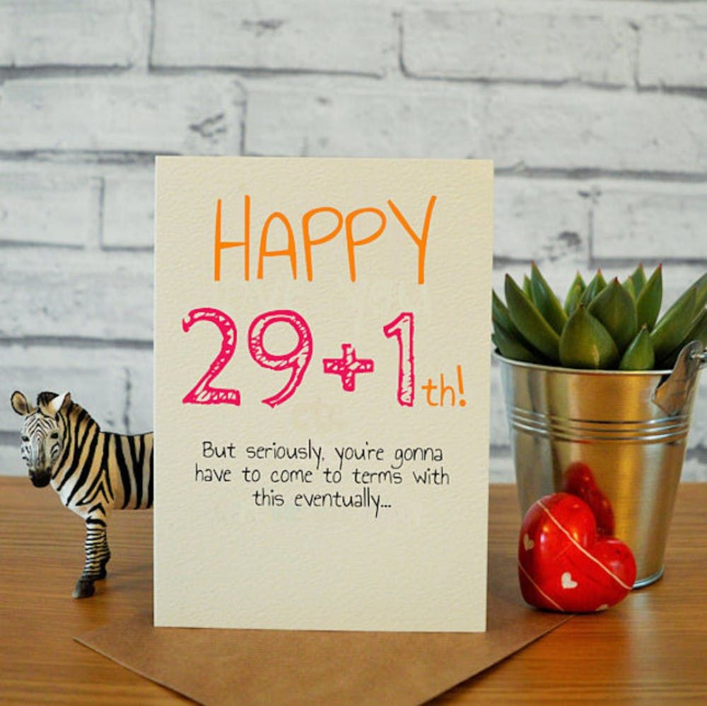 Funny 30th Happy Birthday Card For Him For Her 30 Birthday Wishes Card 30th Bday Greeting Cards Invitations Home Garden Ehpad Lapalisse Com