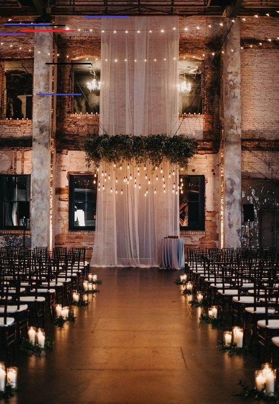 35 Rustic Wedding Decorations In 2020 Loft Wedding Ceremony