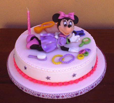 decoracin de tartas infantiles de minnie mouse imagui