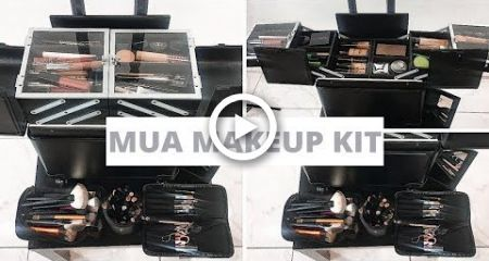 how i organize my freelance makeup kit essentials/tips