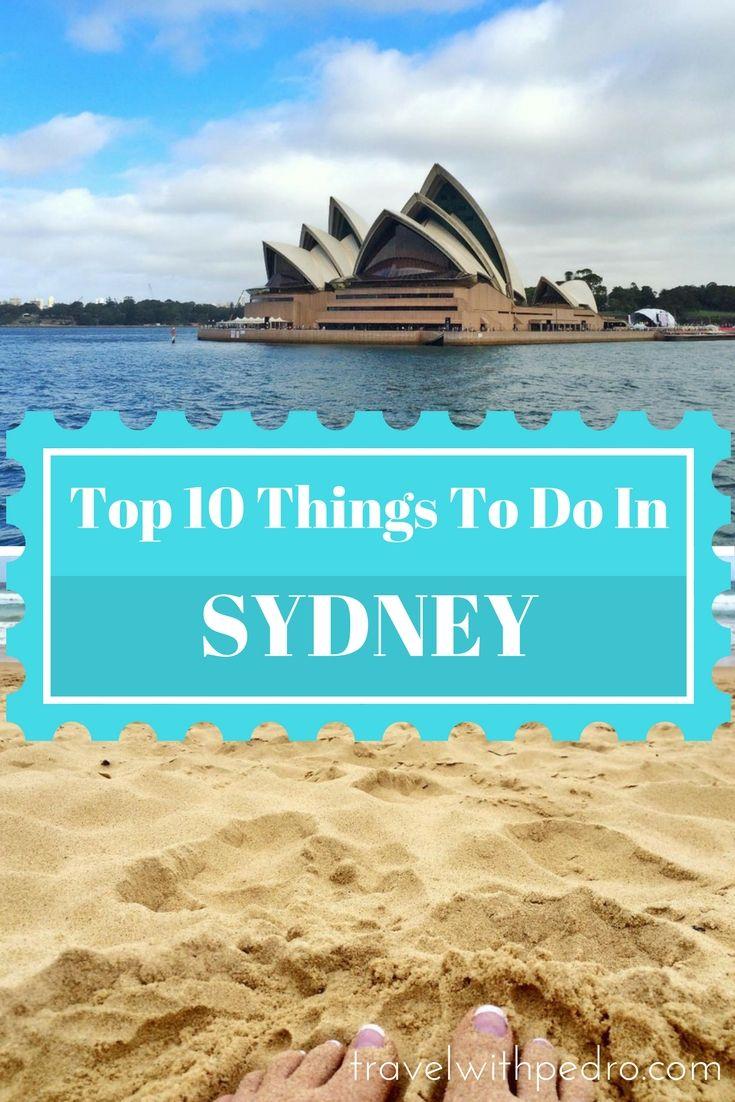 Top Things To Do In Sydney Australia Australia New - 10 things to see and do in sydney australia