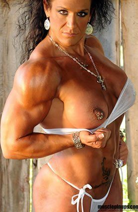girls Women sexy muscle