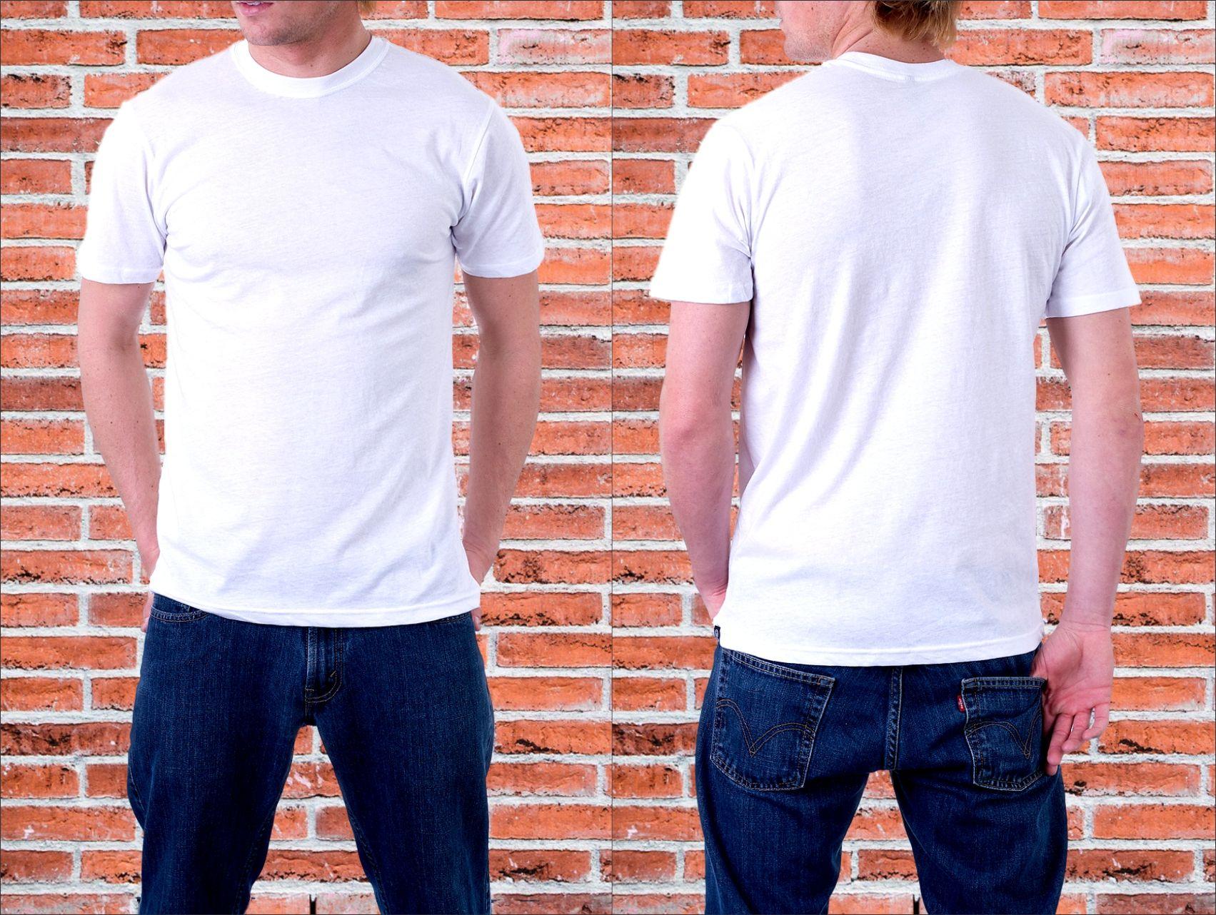 Mentahan Baju Polos Putih