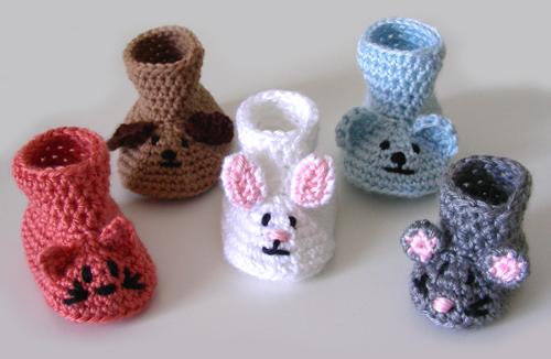 Free Baby Crochet Patterns   ... Crochet Pattern: Animal Baby ...