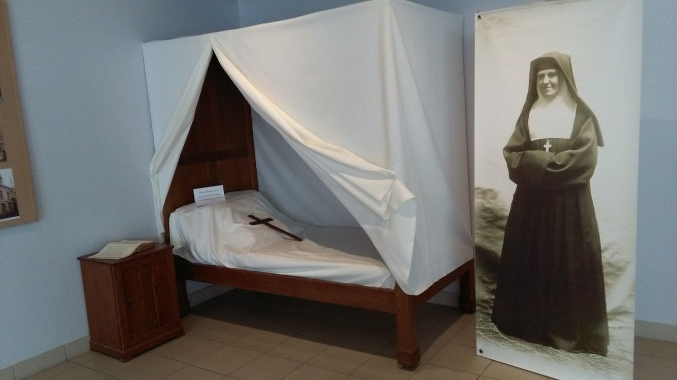 Leonie Martin's cell at the Visitation Convent
