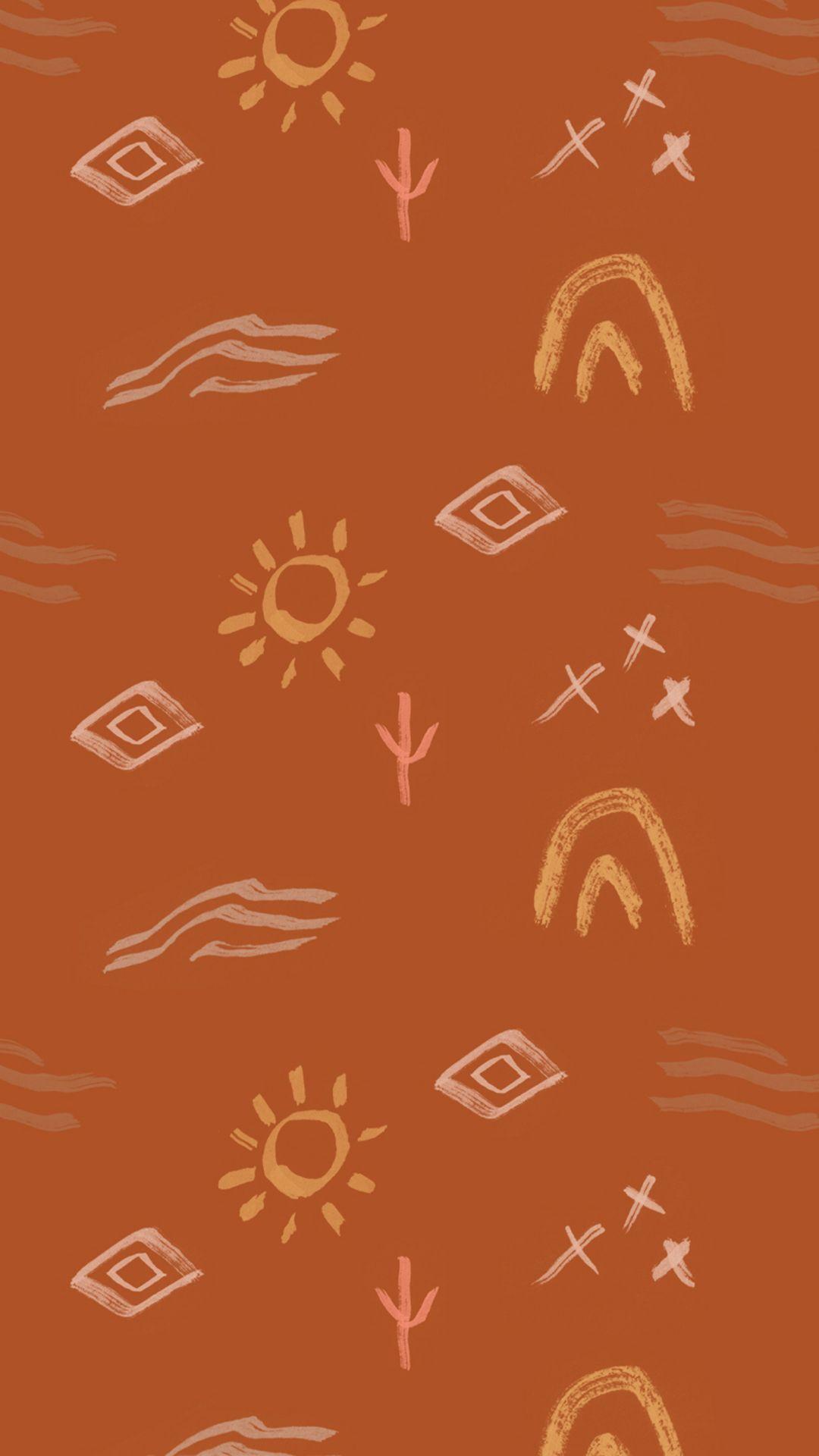 Desert inspired iPhone wallpaper ...