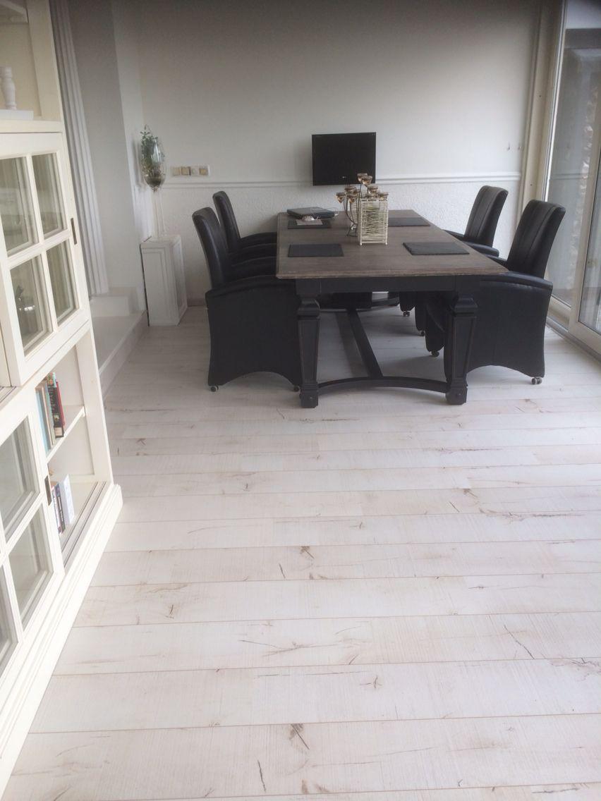 serre white wash laminaat vloer woonstijl pinterest