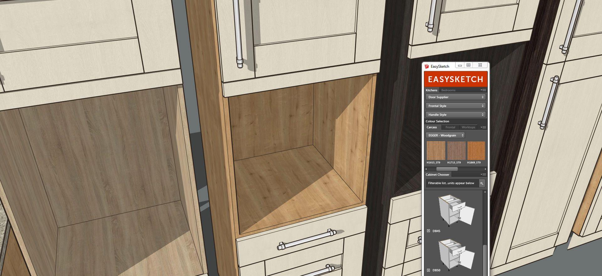 Easysketch Kitchen Design Plugin Kitchen Design New Kitchen Designs Plumbing Accessories