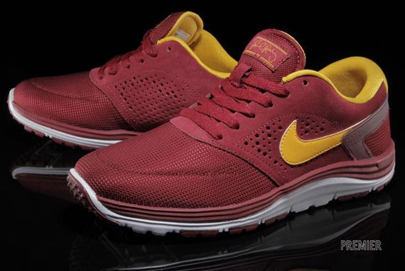 official photos c416c 47db0 Nike Lunar Rod Team Red University Gold