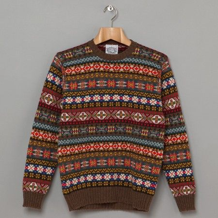 Jamieson's: Fair Isle Jumper. The knitwear of Fair Isle, one of ...