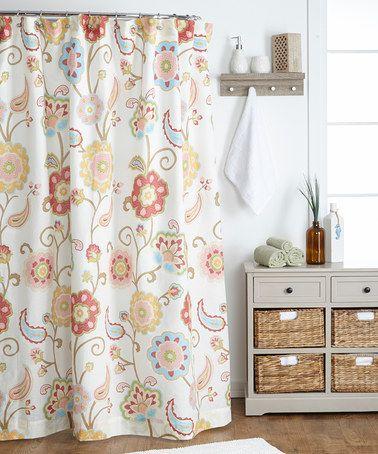 Ashbury Spring Shower Curtain By Levtex Home Zulilyfinds