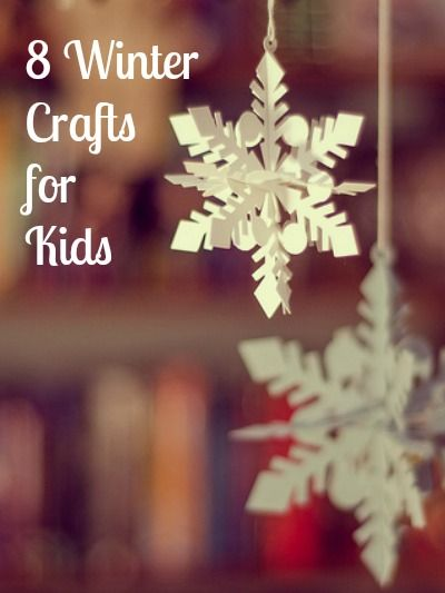 8 winter crafts for kids mom prepares