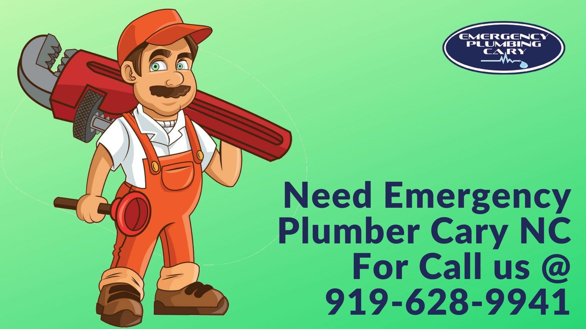 Emergency Plumbing Cary has a certified plumbers team in