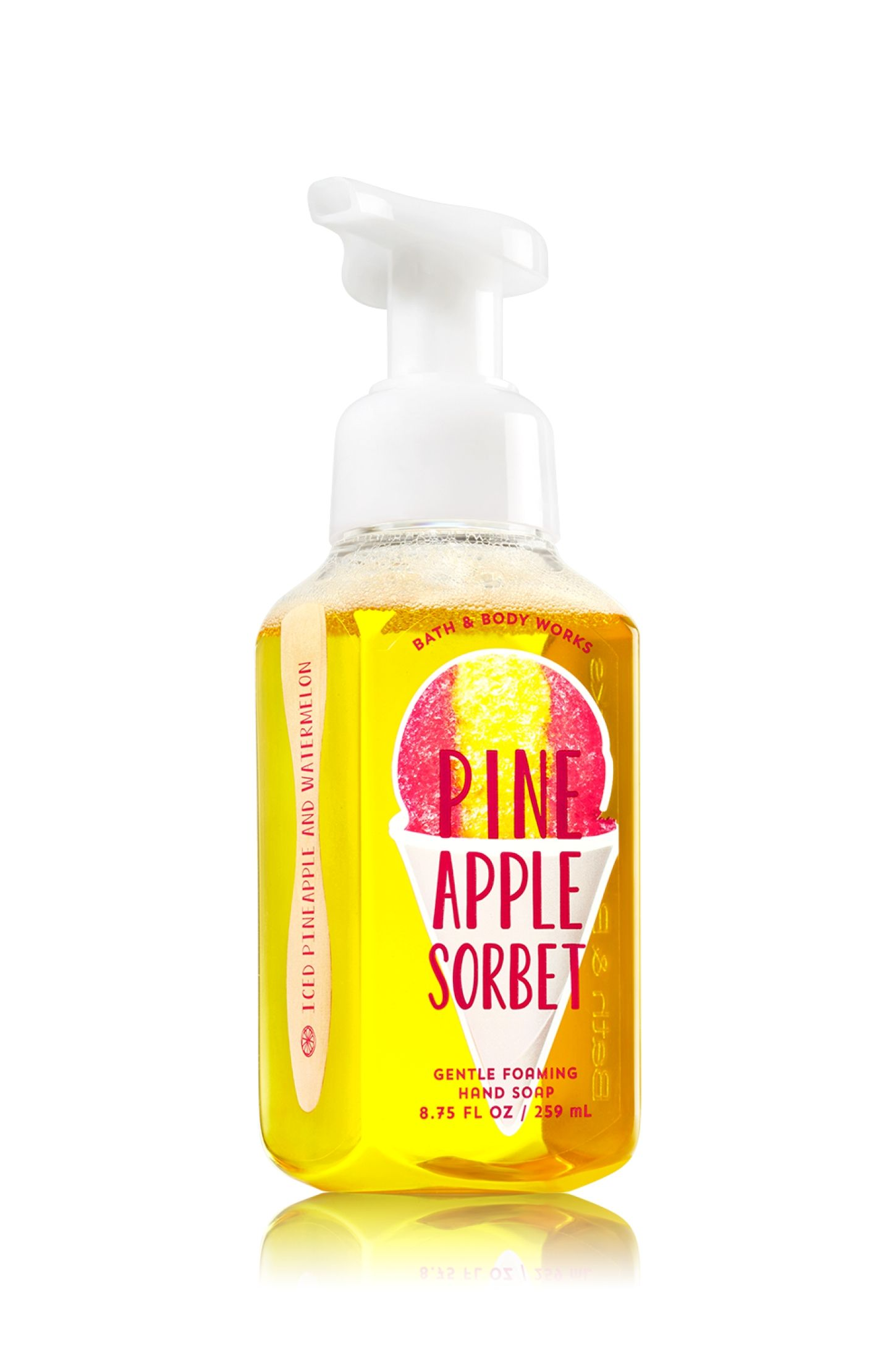 Pineapple Sorbet Gentle Foaming Hand Soap Soap Sanitizer Bath