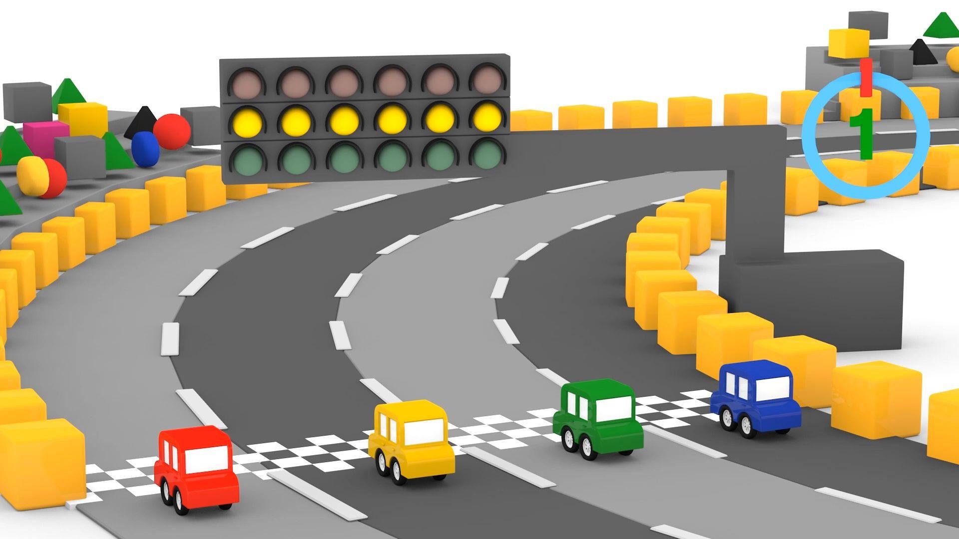 Leo e Scoop non costruscono solo grandi veicoli cartoni animati per bambini Cartoni Animati