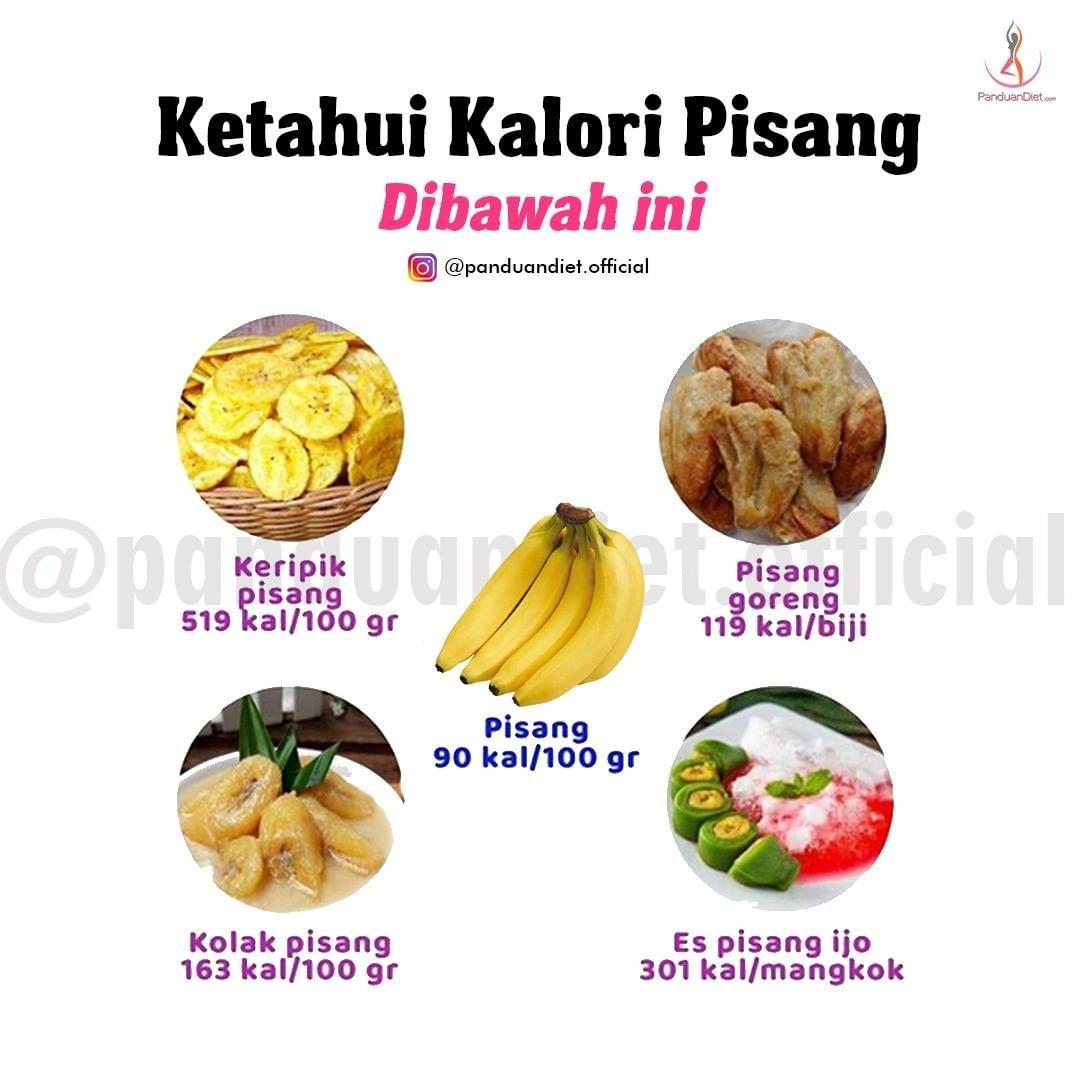 Kalori Dari Buah Pisang Resep Rendah Kalori Makanan Rendah Kalori Kesehatan Alami