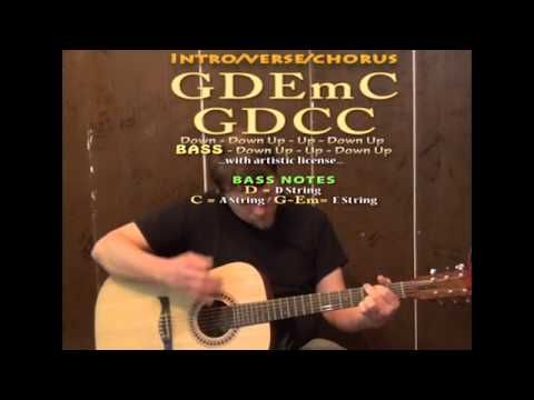 Wagon Wheel Old Crow Medicine Show Guitar Cover Lesson With Chords