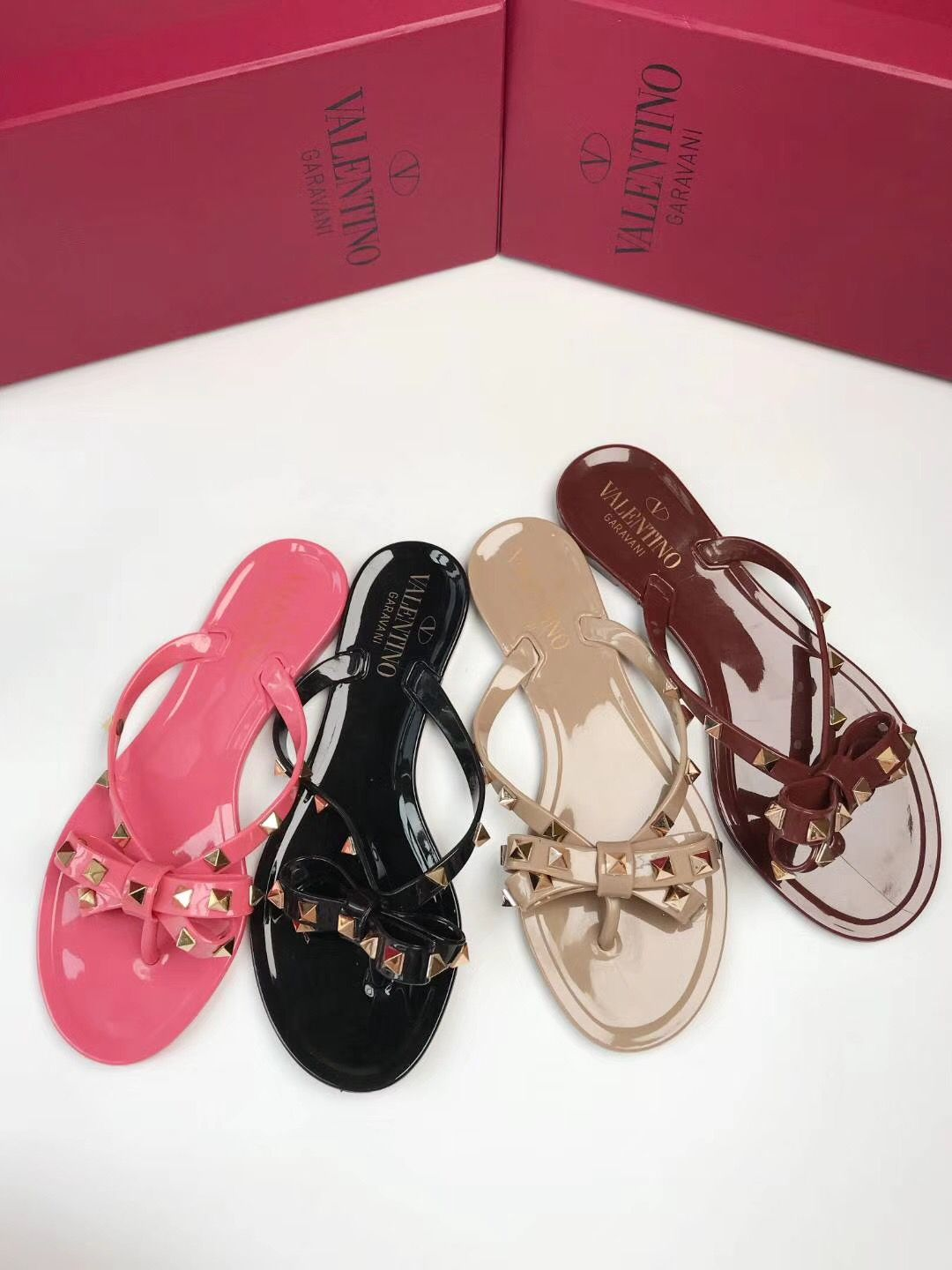37d7a6c2b Valentino jelly slippers flop flips