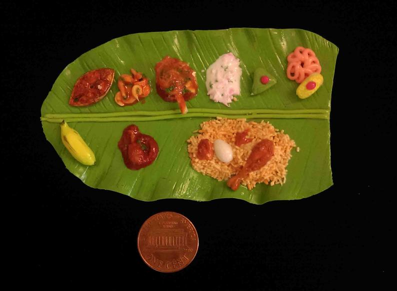 Banana Leaf Food Mix Of More Spices Vegetables And Stomach Filling Rice Served In Banana Leaf Malaysian Cuisine Food Cuisine