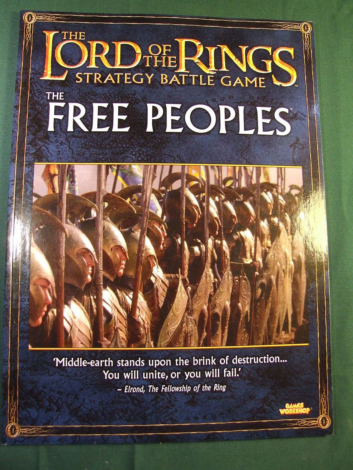 GW LORD OF THE RINGS THE FREE PEOPLES EXPANSION BOOK
