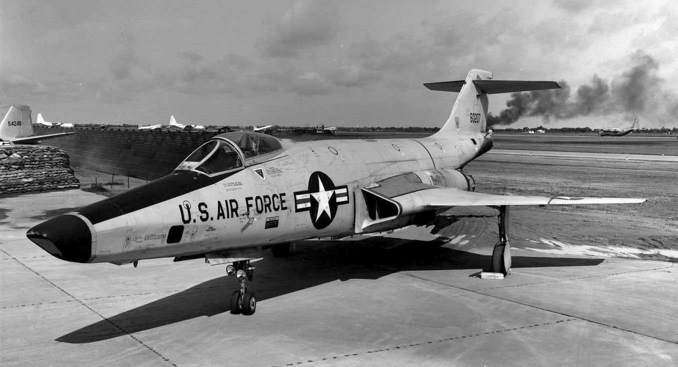 McDonnell F101 Voodoo Fighter jets, Usaf thunderbirds