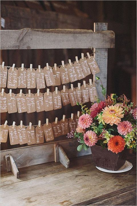 50 Ways To Incorporate Kraft Paper Into Your Wedding Decor