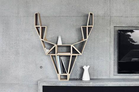 Regal Skandinavisches Design ~ Skandinavisches design kings of sweden deer regal diy