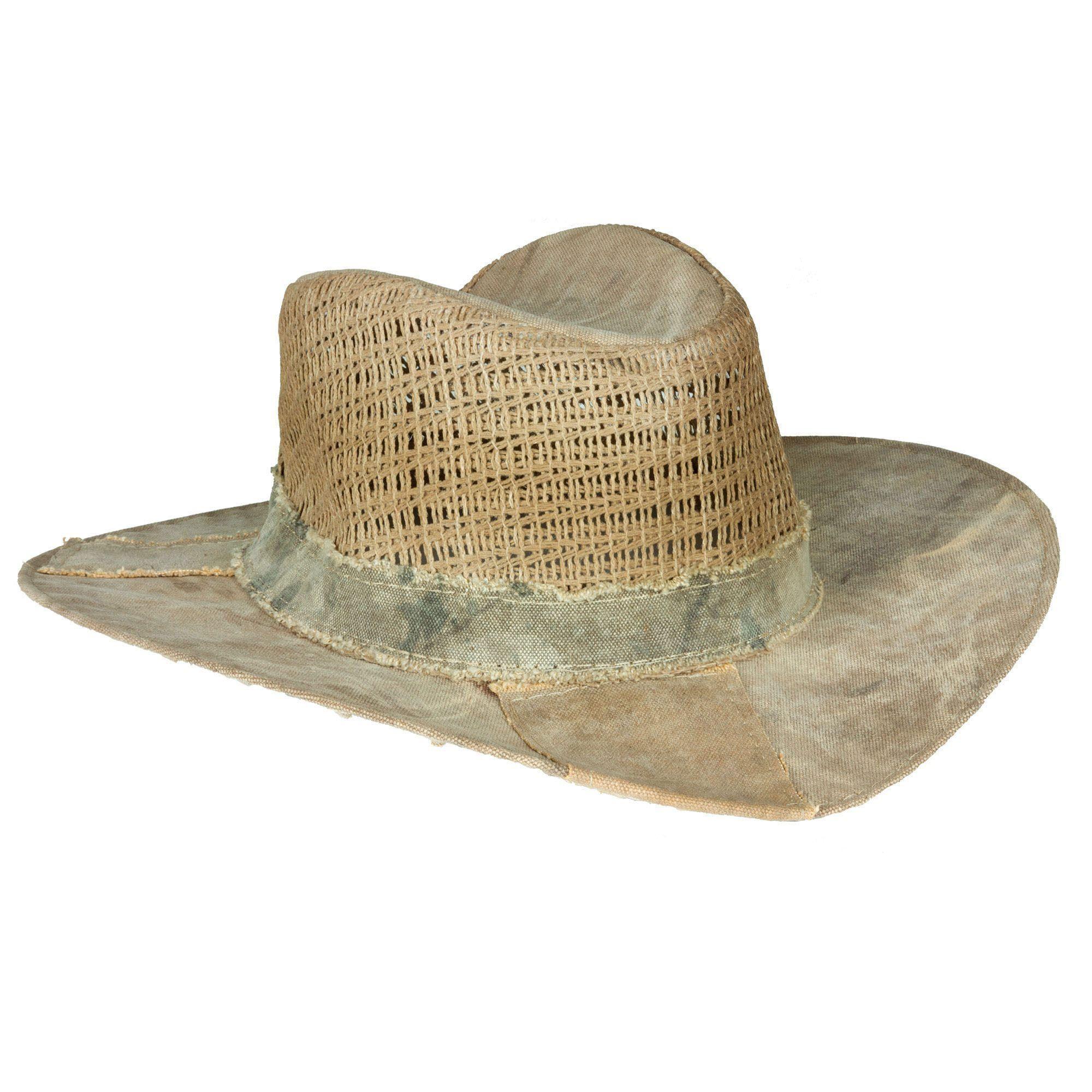c8816350e02 Real Deal Brazil Brisa Tan Khaki Recycled Cotton Canvas Tarp Hat ...