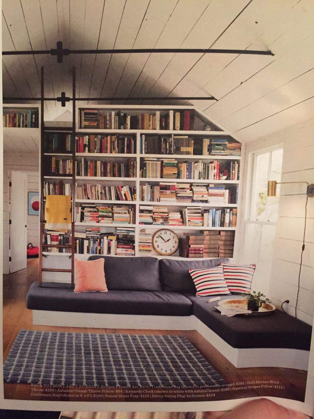 Bookcases.