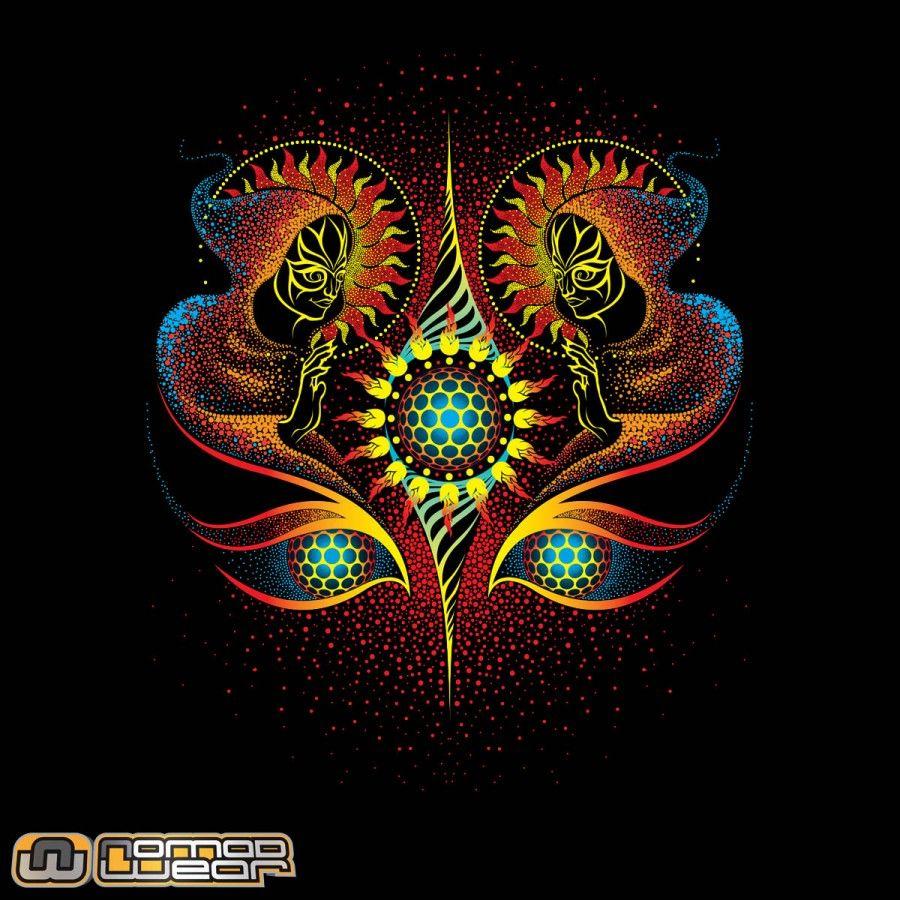 Obra: TRINITY | Artista: Dimorphic | http://www.facebook.com/nomadwearbrasil