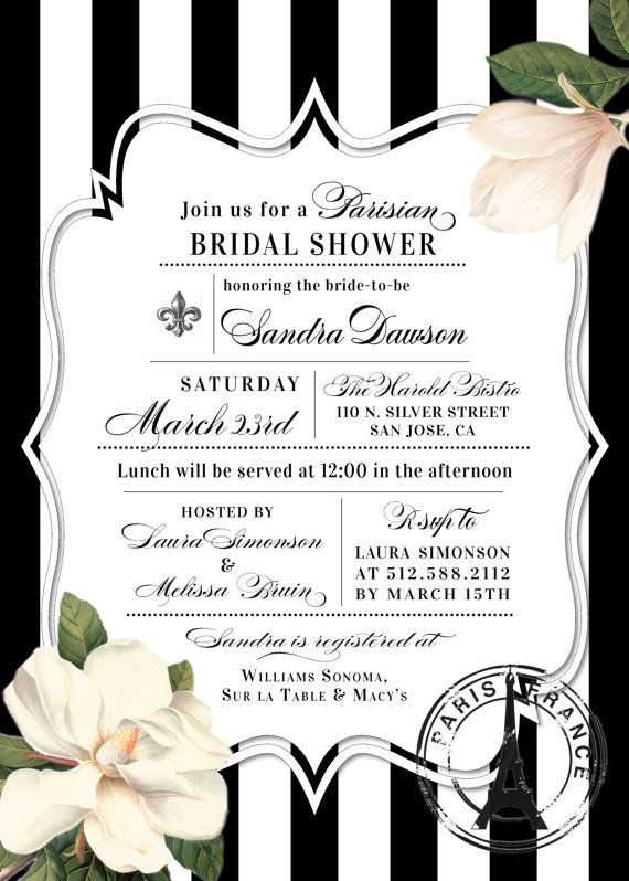christian bridal shower invitations