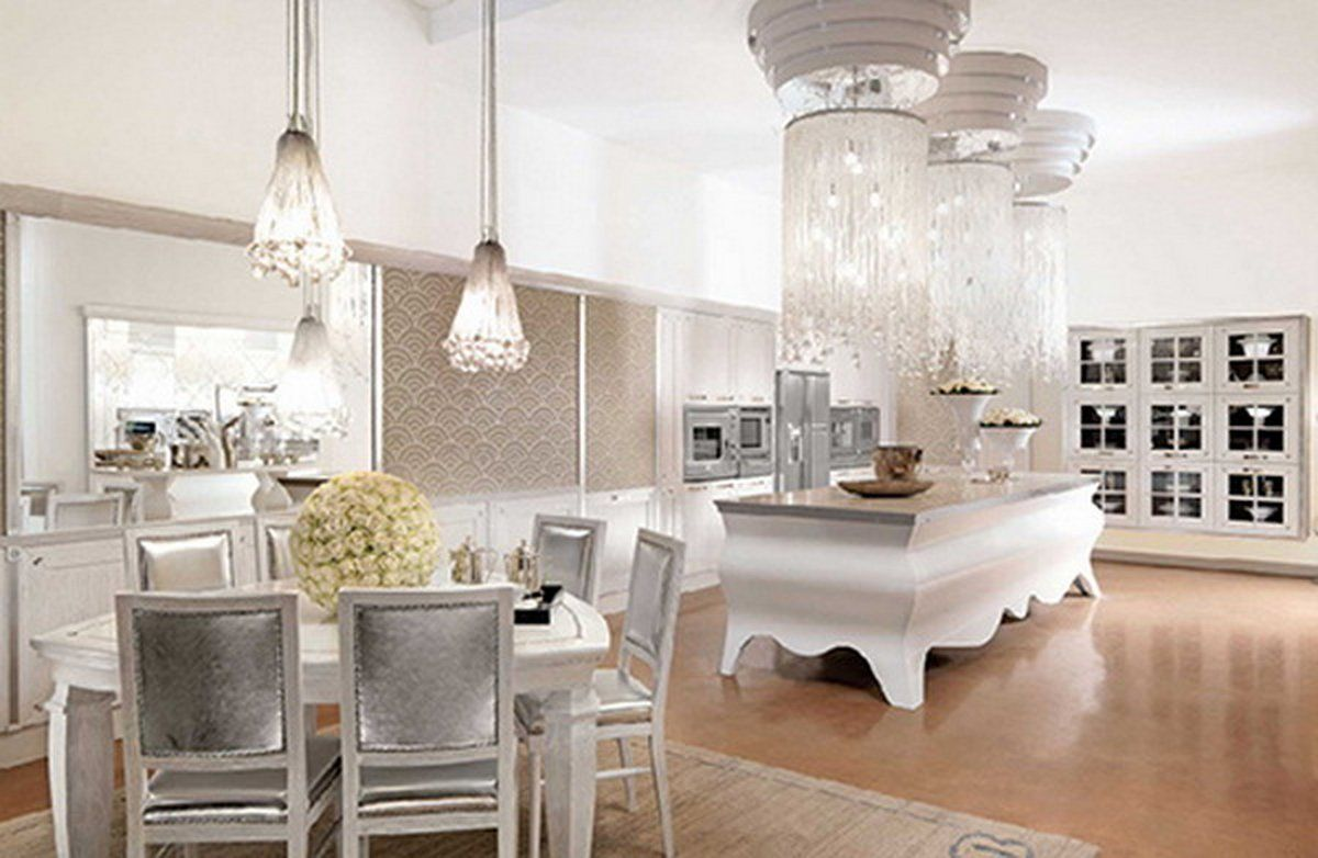 2017 Inspirational Ideas To Decorate A Glamorous Dining Room Unique Designer Kitchen Chairs 2018
