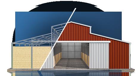 Versatube Diy Steel Building Kits Buildings Pinterest