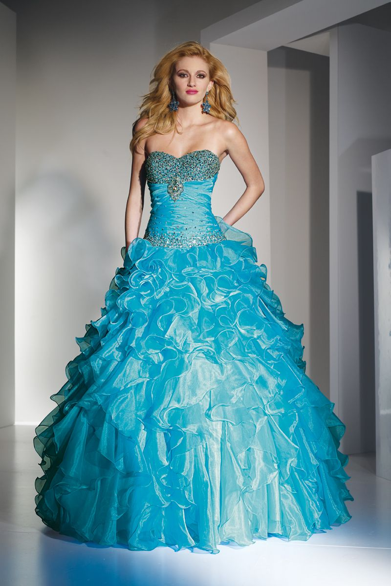 Prom Ball GownQuinceanera Vestidos by Alyce Paris 9088 Poffie Girl ...