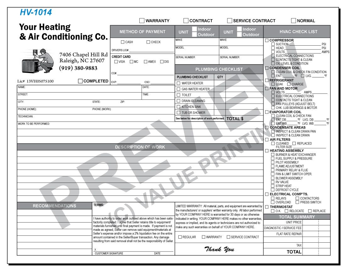 Call Value Printing for More Details! The form combines a common ...