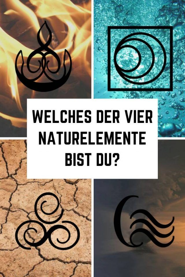 Photo of Which of the four natural elements are you?