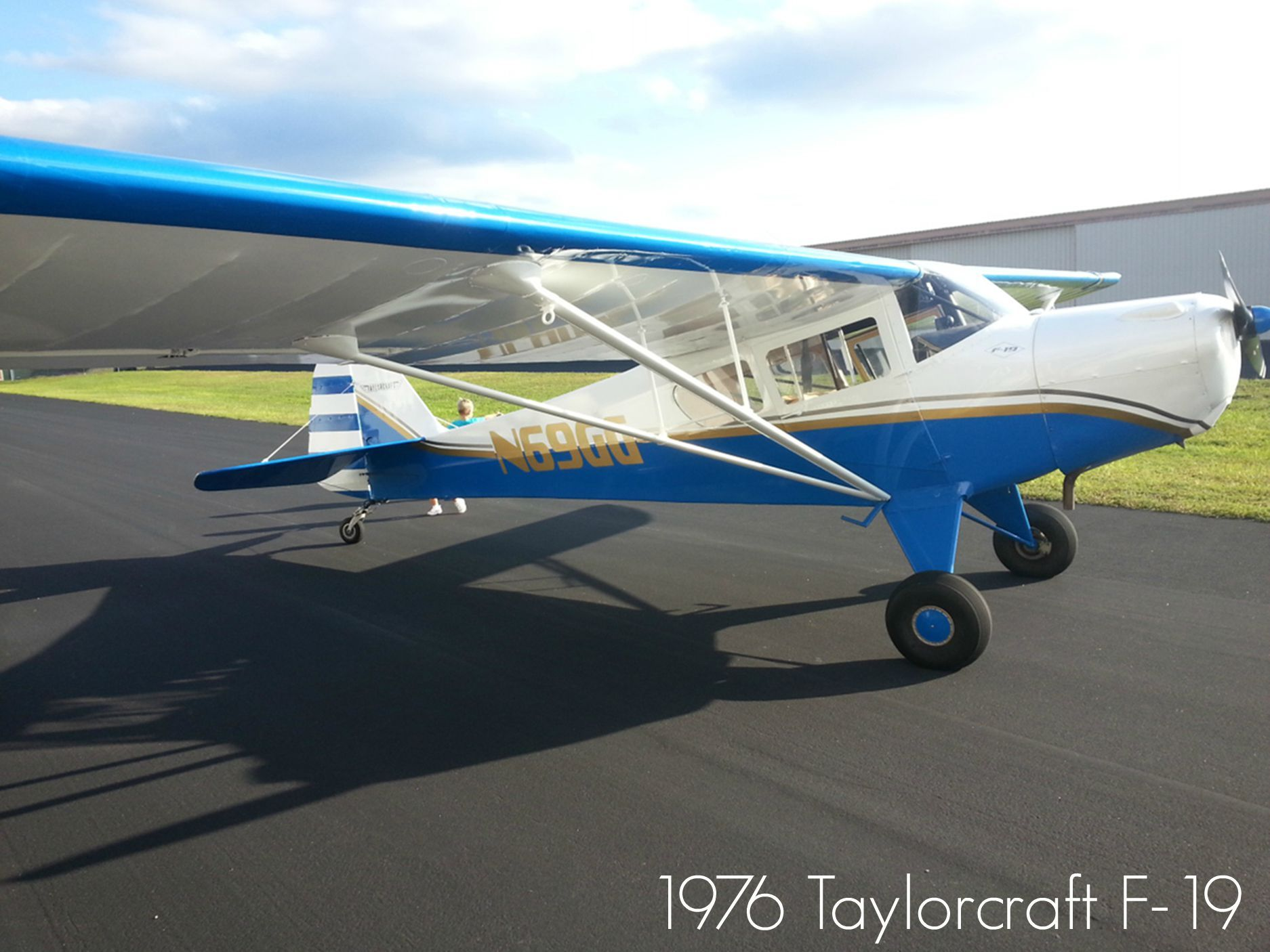 1976 Taylorcraft F-19 Available At Www.trade-a-plane.com