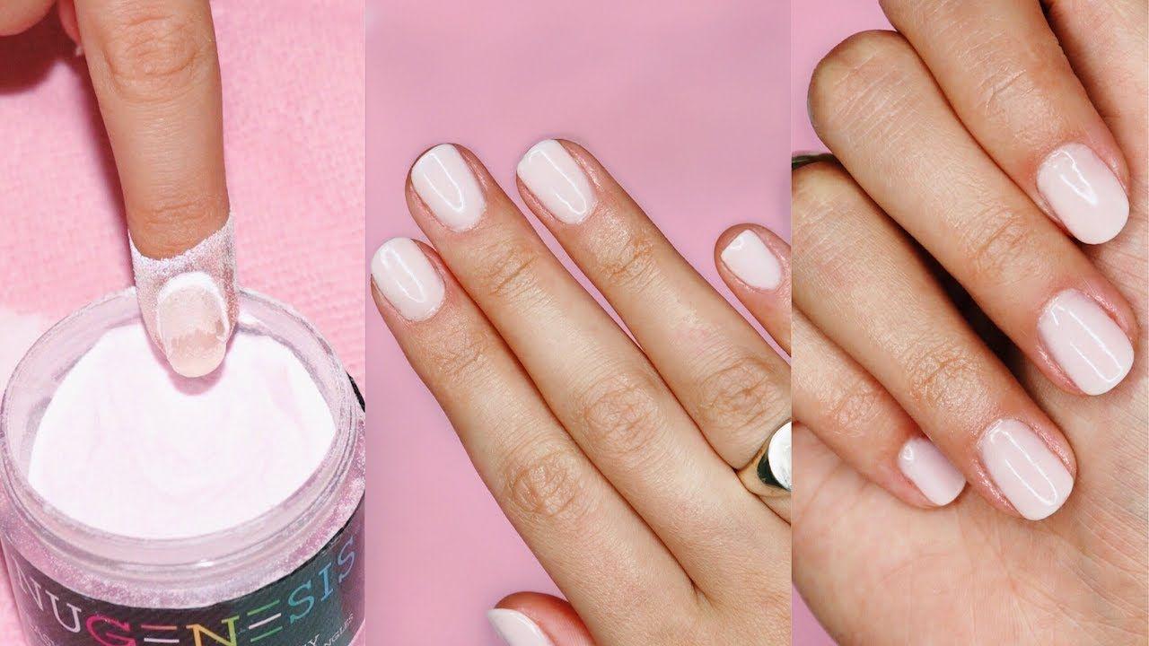 Diy dip powder nails how to youtube powder nails