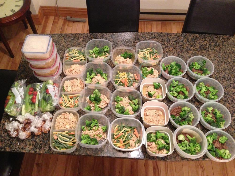 healthy meal prep diet plan bodybuilding
