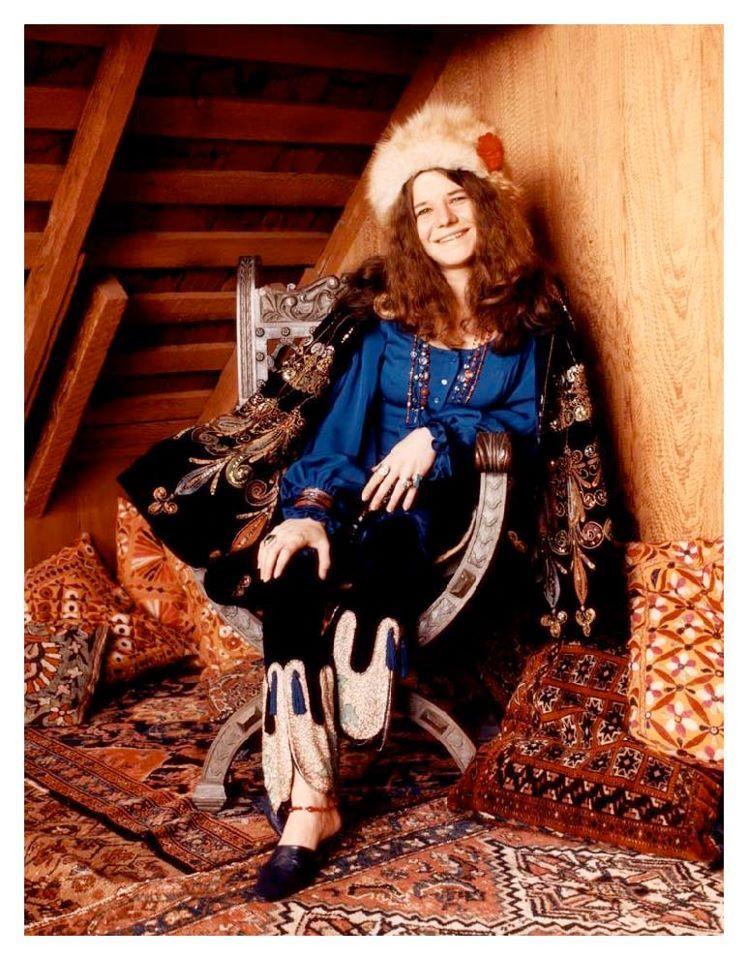 Janis Joplin. Pictured here in San Francisco, 1968