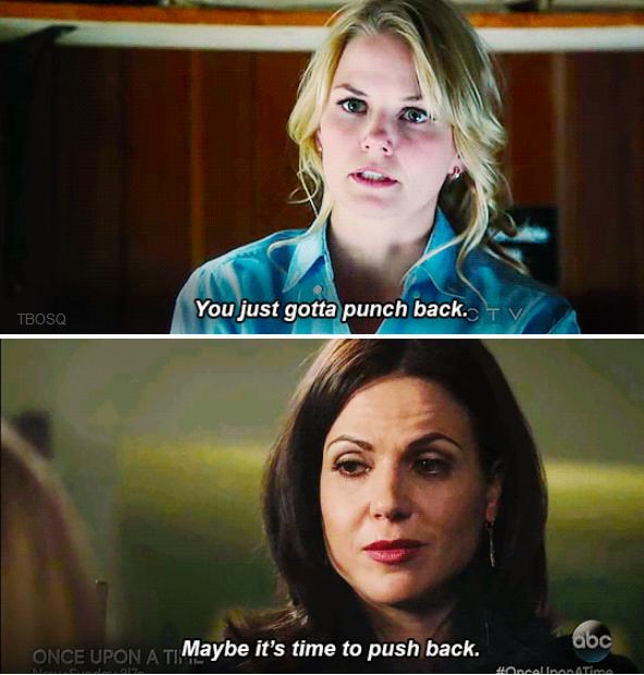 Push back - Regina & Emma