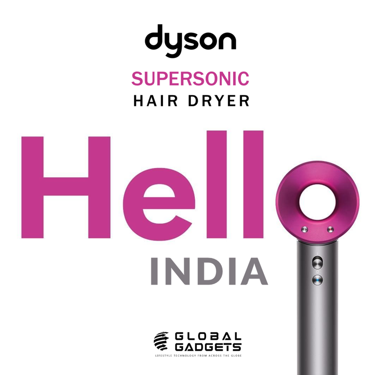 Dyson Hair dryer Now in India!!! Get yourself the Dyson