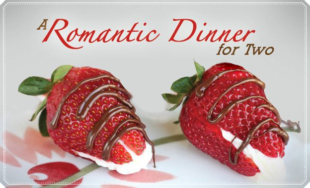 Romantic Dinner For Two From The Authors Of Our Best