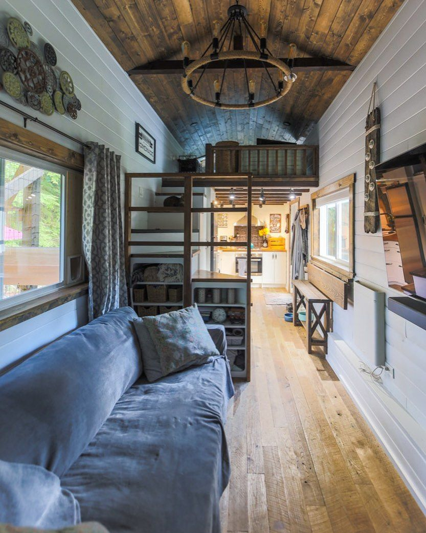 Uch A Beautiful Tiny Home Check Out The Full Tour On Our Latest Youtube Video Livingbiginatinyhouse Tinyhouse Tiny House House Inspo Tiny House