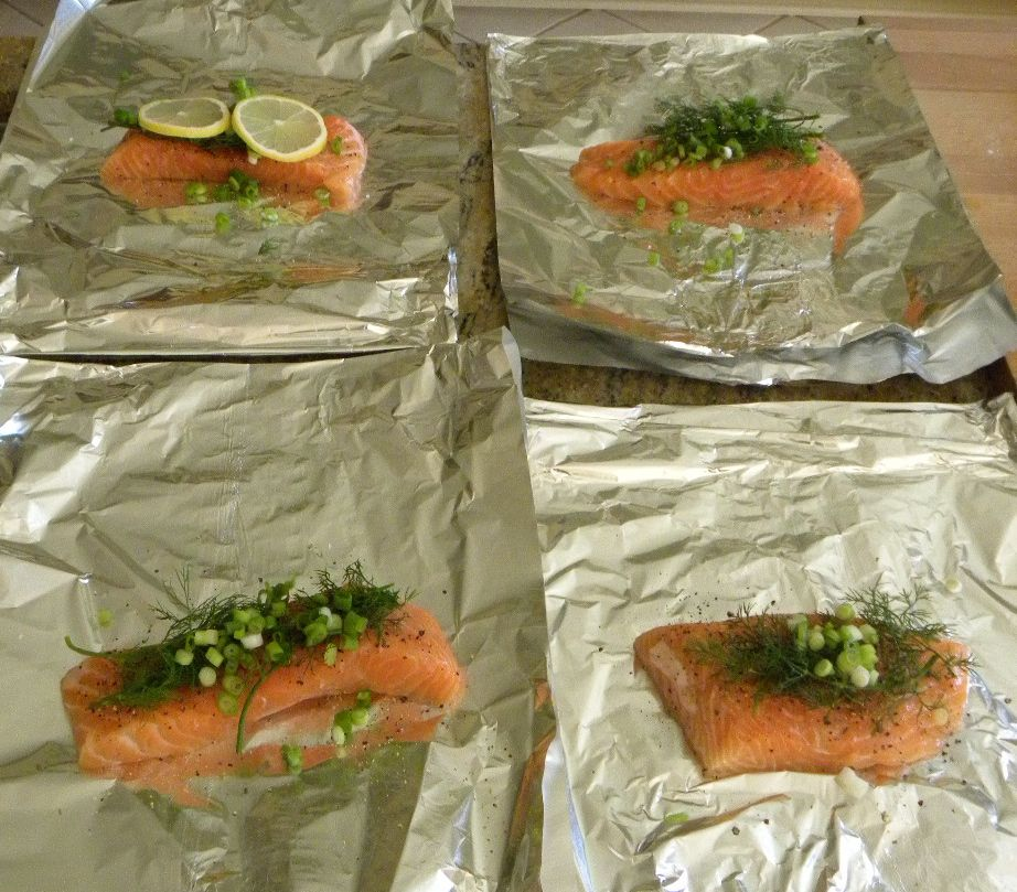 how to prepare and cook salmon on the grill